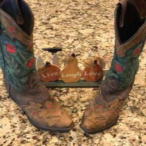 Like NEW Dan Post Ladies Laredo Cowboy Boots - 7.5